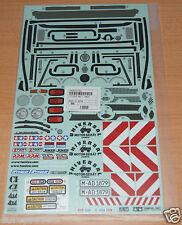 Tamiya 58414 Mercedes-Benz Unimog 406/CR01/CW01/CC01 9495556/19495556 Decals NIP