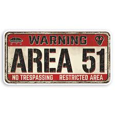 2 x Glossy Vinyl Stickers UFO Alien X-Files Area 51 iPad Laptop Decal #4057