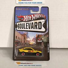 Honda CR-X * Yellow * Hot Wheels Boulevard * HA5