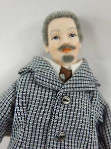 """Doll House Miniature Doll 6.2"""" Heidi Ott adult Male BJD Doll #X060"""