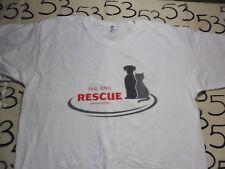Large- Live Love Rescue Dog Cat Yazbek Brand T- Shirt