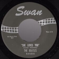 """Beatles """"She Loves You"""" Late 60's US Swan Counterfeit Stock Copy 45"""