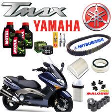 TAGLIANDO YAMAHA T-MAX 500 2001 -07 OLIO MOTUL FILTRI CINGHIA RULLI CANDELE TMAX