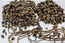 3824 Carats of Genuine Tigers Eye Gem Stone Beads