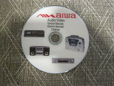 Aiwa audio video Repair Service Owners manuals and Schematics dvd 2 of 3