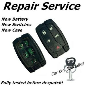 Land Rover Key Fix Freelander 2 Remote Key Fob Repair / New Battery / New Case