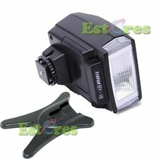 BY-18 + Flash stand Universal Hot Shoe mini Flash for Canon Nikon Pentax Olympus
