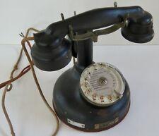 """TÉLÉPHONE ANCIEN """"SOCIÉTÉ INDUSTRIELLE DES TÉLÉPHONES"""" 1937"""