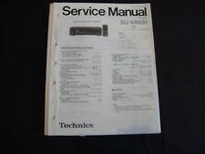 ORIGINAL SERVICE MANUAL TECHNICS Amplifier su-vx620