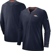 Nike Denver Broncos Coach Men's Half-Zip Long Sleeve New With Tags!!!!!!!!!!