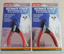 (2) Four Paws Ultimate Touch Cat Nail Trimmers