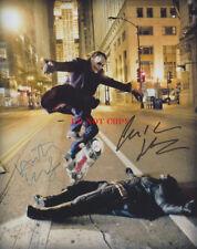 Heath Ledger Christian Bale The Dark Knight Autographed 8x10 Signed Phot Reprint
