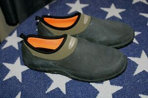 Muck Boot Co Waterproof Muckster Rubber Shoes Mens Sz 9/8.5 Womens 10/10.5