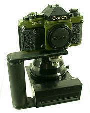 Canon f-1 New f-1n Olive Olive us Govt property NPC polaroid vintage unique