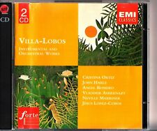 Villa-Lobos - Instrumental & Orchestra Works 2-CD Lopez-Cobos/LPO/Romero Best Of