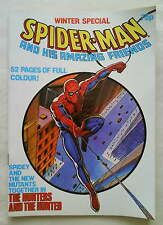 SPIDER-MAN AND HIS AMAZING FRIENDS WINTER SPECIAL1983 (Marvel Comics UK) NM/Fine