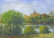 Castle Howard, firmato a mano, intitolata e stampa montata con COA