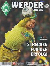 Werder Magazin + SV Werder Bremen + 1899 Hoffenheim + 19.04.2014 + Programm +