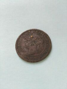 1881H Canadian Large Penny (1c), No Reserve!