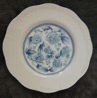 "Gear Arita Blue Damask Salad/Dessert Plate 8"" EUC"