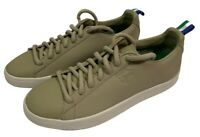 Puma x Big Sean Mens Size 8.5 Clyde Leather Lace Up Shoes Beige Limited Edition