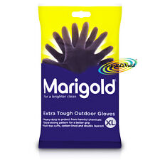 Marigold Extra Tough Outdoor Gardening Cleaning Gloves XL Heavy Duty Rubber