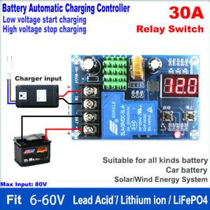 6V-60V 12V 12V 36V 48V 30A Battery Charger Automatic Charging Controller Module
