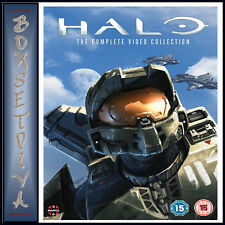 HALO - THE COMPLETE VIDEO COLLECTION - 4 FILM COLLECTION *BRAND NEW DVD BOXSET*