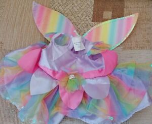 Build a Bear Workshop clothes clothing Lovely Rainbow Fairy costume Free uk Post