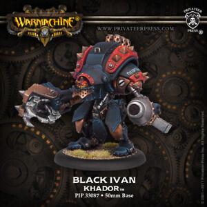 WARMACHINE Khador Black Ivan Heavy Warjack Upgrade - PIP 33087 NEW
