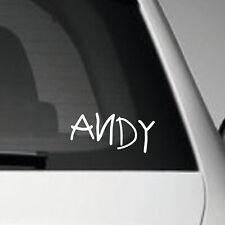 ANDY - JDM EURO JAP VINYL ADHESIVE CAR DECAL STICKER