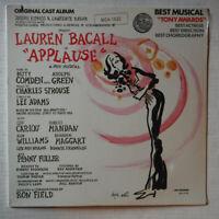 APPLAUSE – ORIGINAL CAST– 12 INCH 33 RPM VINYL LP ALBUM – SEALED – LAUREN BACALL