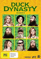 DUCK DYNASTY : SEASON 6  -  DVD - UK Compatible - sealed