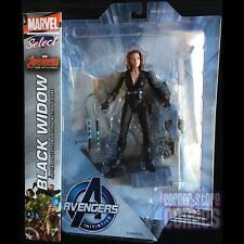 Marvel Select BLACK WIDOW Avengers 2 AGE OF ULTRON Action Figure SOLD OUT ScarJo