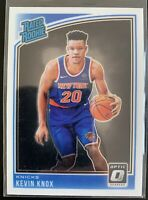 2018-19 Donruss Optic Rated Rookie Kevin Knox RC Rookie #190
