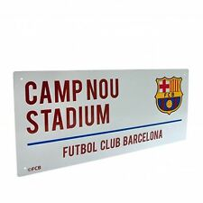 Barcelona F.C. Street Sign Stadium Plaque Football Club Team Road Signs