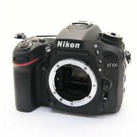[Near Mint] Nikon D7100 24.1MP Digital SLR Camera Black Body Black w/ Charger