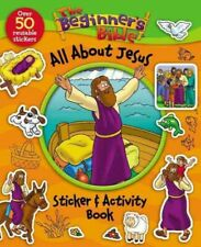 Beginner's Bible All About Jesus Sticker & Activity Book, Paperback by Zonder...
