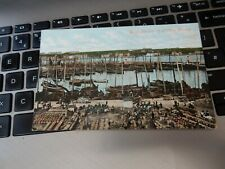More details for postcard wick fishing trawlers harbour      p10e22