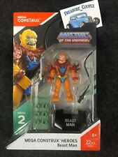 MEGA CONSTRUX Masters of the Universe BEAST MAN He-Man Mega Blok NEW Sealed