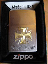 Zippo Germany Bar Cross Iron EK BW WWI WH ORIG. PACKAGING