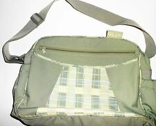Graco Green Adjustable Strap Diaper Bag With Changing Pad