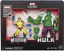 Marvel Legends 6 Inch Action Figure 2-Pack Series - Wolverine vs Hulk