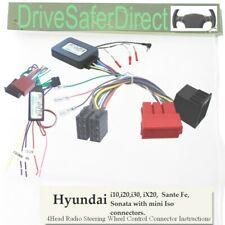 SWC-2974-02L Adaptador De Tallo, aprendizaje para Android Chino Radio/Hyundai i20 09-12