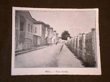 Milas o Milasa nel 1920 Una strada Turchia