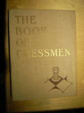 The Book of Chessmen, Alex Hammond 1950, 1.Edition, Good Condition For Age
