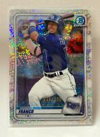 2020 Bowman Chrome Wander Franco Speckle Refractor /299 BCP-1 Beautiful Card!