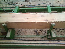 Larch beams - posts 150mm x 150mm x 3.5m. We can mill any size to order