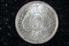 1900 - Union Es La Fuerza 50cent, Republica Boliviana!!!  #H8192