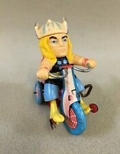 Thor Tricycle By Marx Marvel Wind Up Tin Toy Working Vintage 1968 Rare Japan
